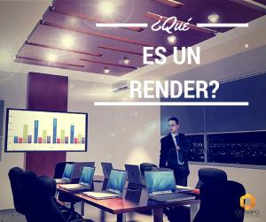 ¿Qué es un Render?